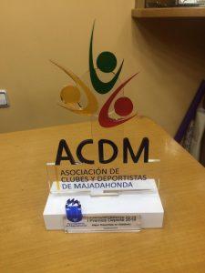 I Gala del Deporte de Majadahonda (ACDM) con 20 premios por votación popular