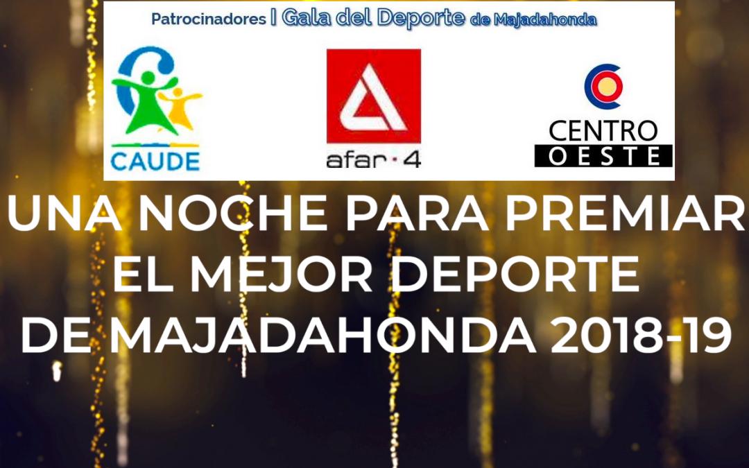 La vivienda de Afar 4, el Colegio Caude y la zona comercial del Centro Oeste (Carralero), con el Deporte de Majadahonda en su Gala Anual 2019